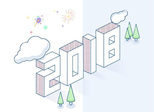 制作一款清新的二次元风格字体效果-2018