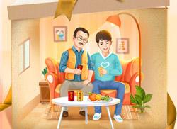 今年的父亲节借势广告我最喜欢他家