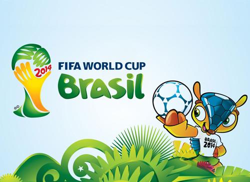 英文字体特刊:巴西世界杯LOGO字体