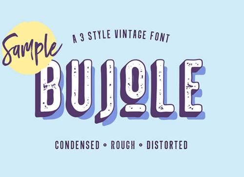 十月一设计师最喜欢的英文字体免费下载