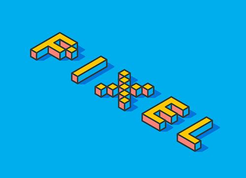 如何在Adobe Illustrator中创建3D积木字体效果