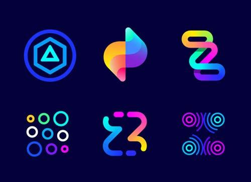 最近流行的彩虹色标志怎么设计出来的?