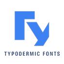 Typodermic Fonts的LOGO
