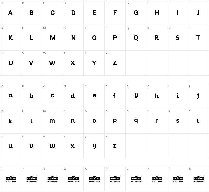 Altair的字符映射图