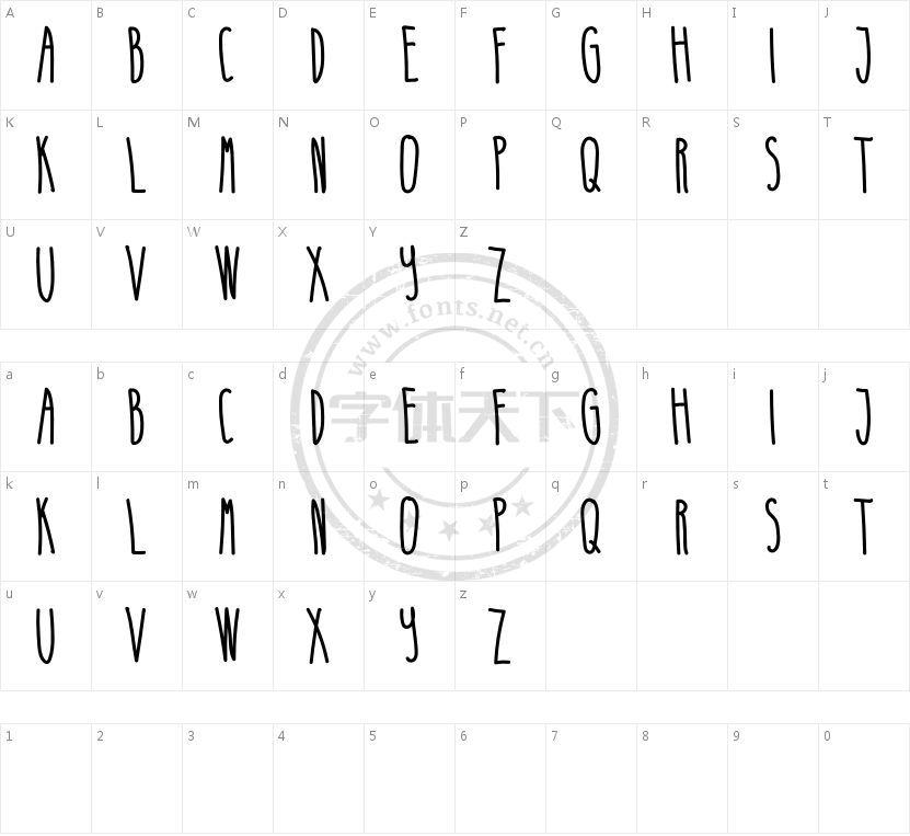 Mimo Free的字符映射图