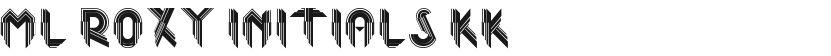 ML Roxy Initials KK的封面图