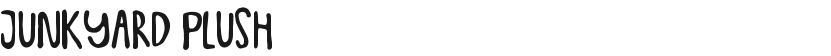 Junkyard Plush的封面图