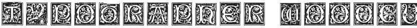 Typographer Woodcut Initials One的封面图