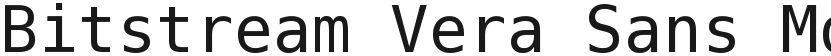 Bitstream Vera Sans Mono的封面图