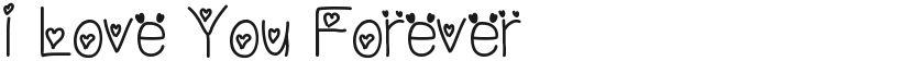 I Love You Forever的封面图