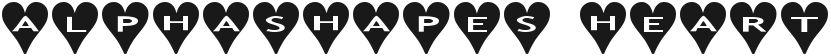 AlphaShapes Hearts的封面图