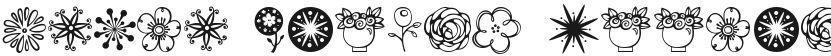 Janda Flower Doodles的预览图