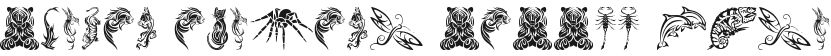 Tribal Animals Tattoo Designs的预览图