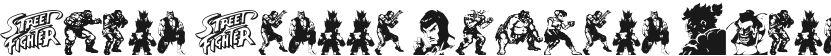 Super Street Fighter Hyper Fonting的预览图