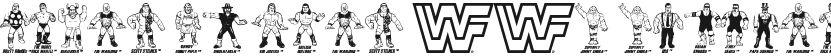 Retro Hasbro WWF Figures的封面图