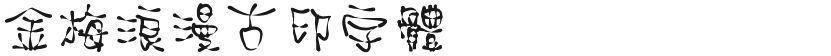 金梅浪漫古印字体的封面图