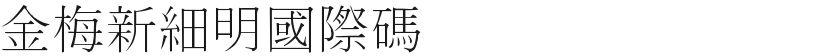 金梅新细明国际码的封面图