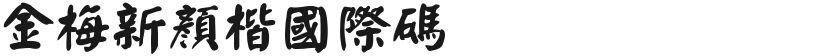 金梅新颜楷国际码的封面图