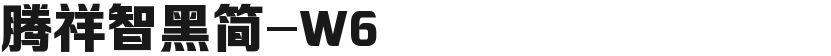 腾祥智黑简-W6的封面图