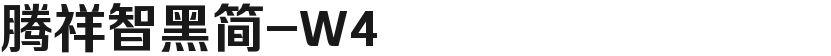 腾祥智黑简-W4的封面图