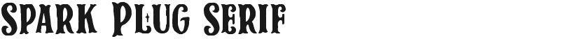 Spark Plug Serif的封面图
