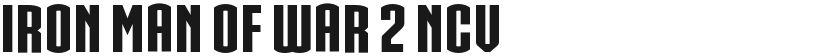 IRON MAN OF WAR 2 NCV的封面图