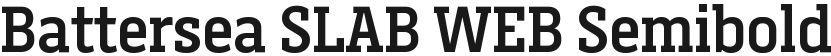 Battersea SLAB WEB Semibold的封面图