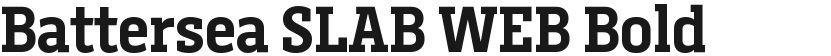Battersea SLAB WEB Bold的封面图