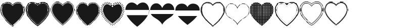 Font I Love You的预览图