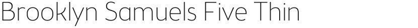 Brooklyn Samuels Five Thin的封面图
