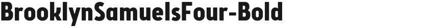 BrooklynSamuelsFour-Bold的封面图