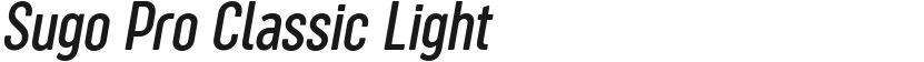 Sugo Pro Classic Light的封面图