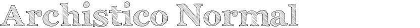 Archistico Normal的封面图