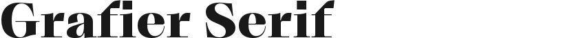 Grafier Serif的封面图