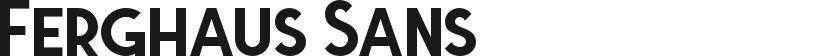 Ferghaus Sans的封面图