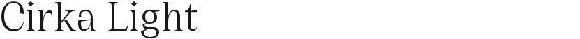 Cirka Light的封面图