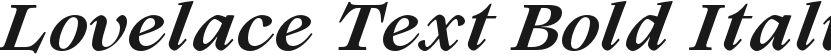 Lovelace Text Bold Italic的封面图