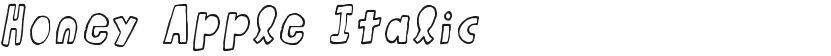 Honey Apple Italic的封面图