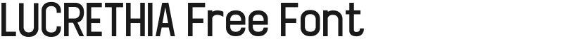 LUCRETHIA Free Font的封面图