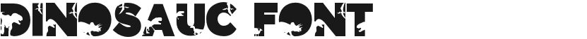 Dinosauc Font的封面图