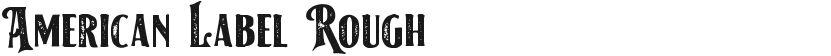 American Label Rough的封面图