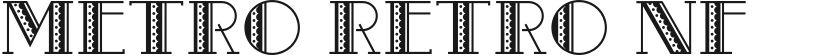 Metro Retro NF的封面图