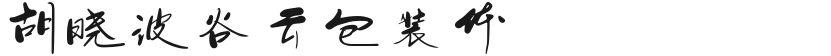 胡晓波谷云包装体的封面图