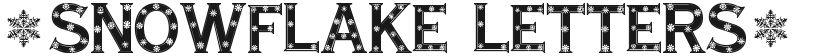 Snowflake Letters的封面图