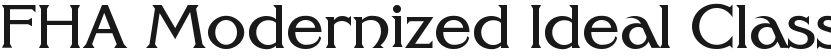 FHA Modernized Ideal ClassicNC的封面图